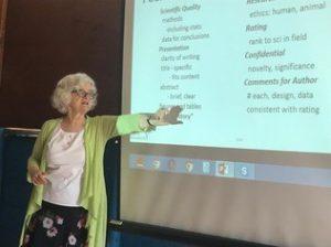 Dr. Noni MacDonald teaching