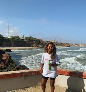 Afomia Gebre in Accra