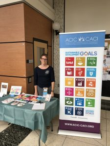 Janelle Frail with the Atlantic Council for International Cooperation (ACIC)