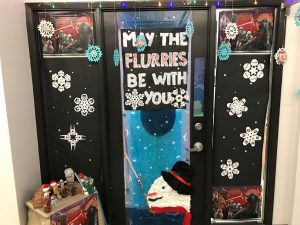 May the Flurries be with you Festive Door Decorations