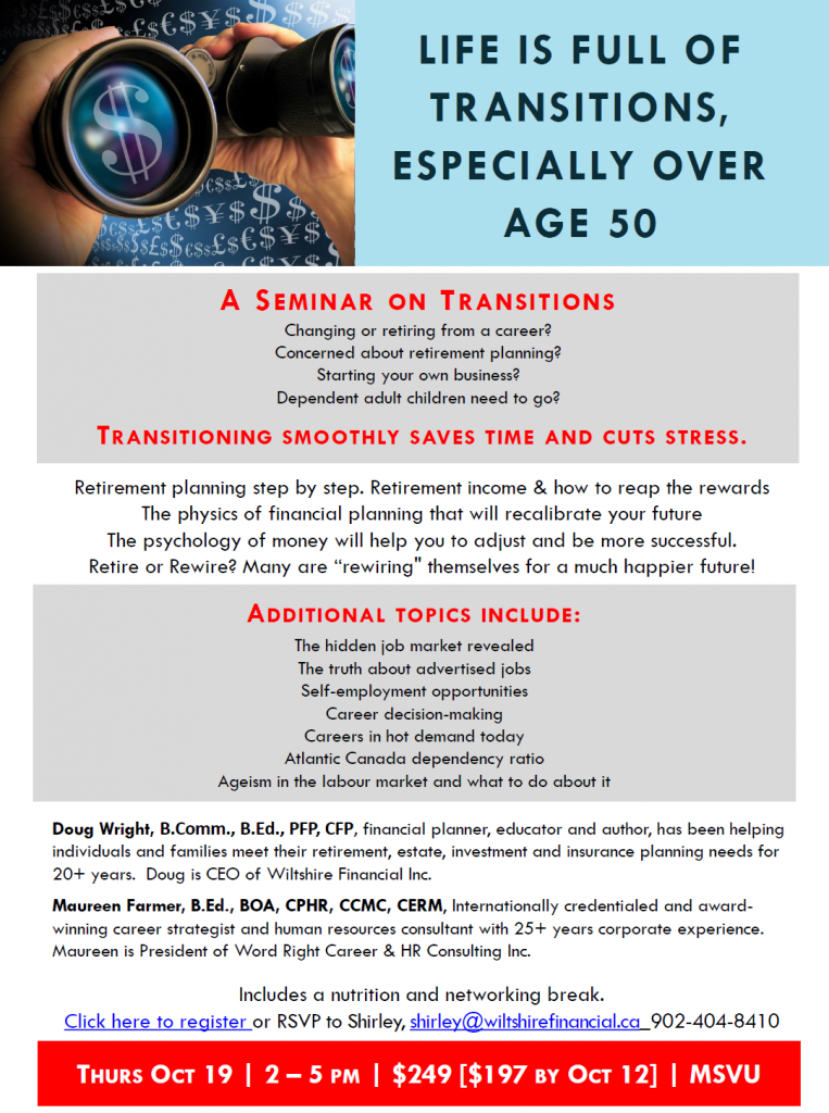 A seminar on transitions