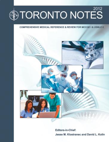 Toronto Notes (2012)