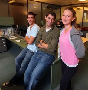 Devon Parkinson, Aaron Binstock, Sarah Volpatti