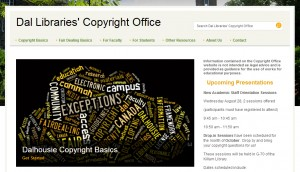copyright screen shot