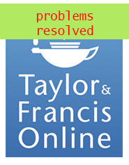 taylor and francis resolved