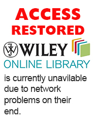 wiley access restored