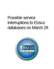 ebsco interruptions