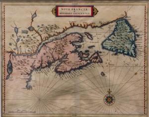 Nova Francia et Regiones Adjacentes by Johanne de Laet