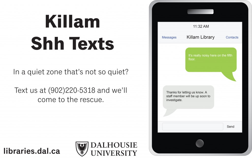 Killam Shh texts