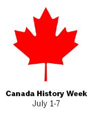 CanadaHistoryWeek