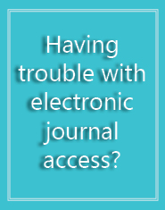 electronicjournaldifficulties
