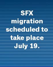 SFX Migration