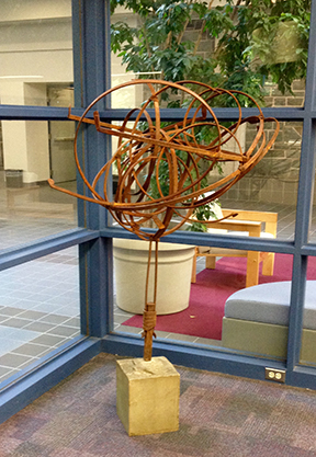 Law Library Sculpture