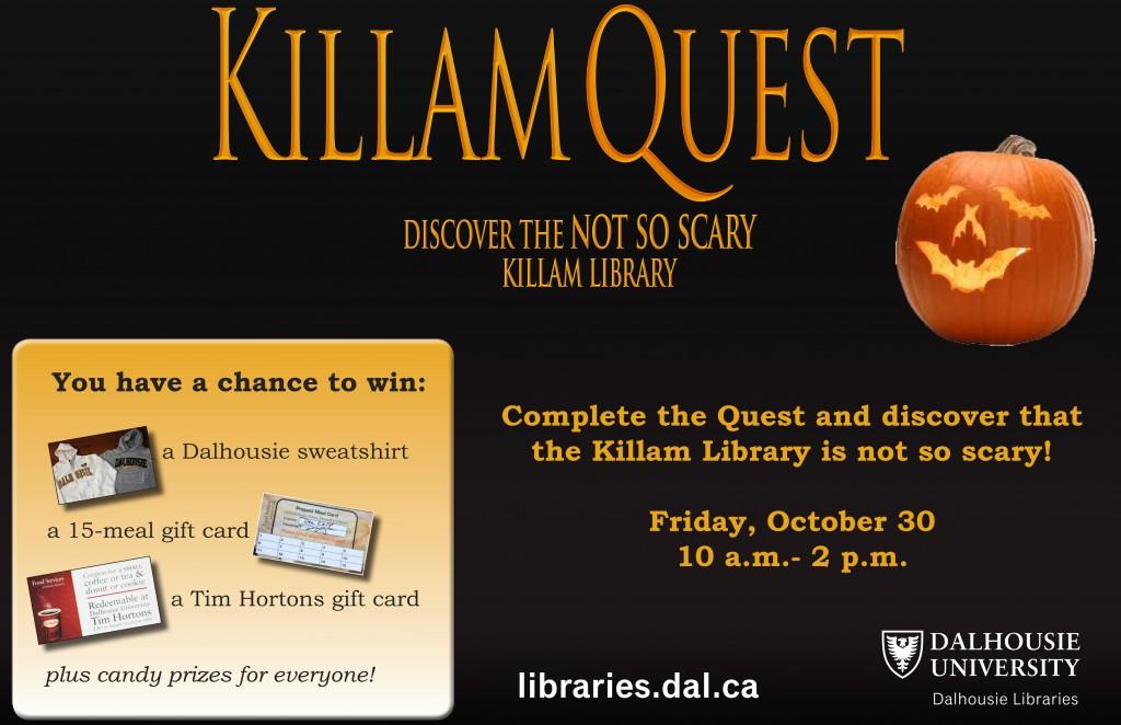 2015_Killam quest promo poster