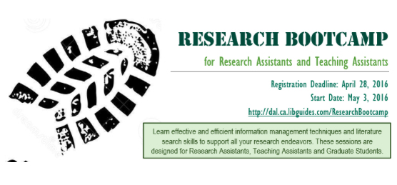 research bootcamp