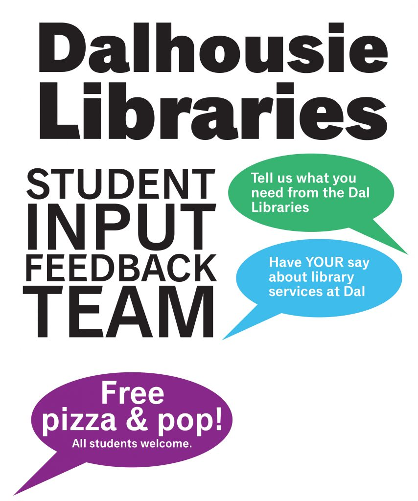 Dal Libraries SIFT promotions poster.indd