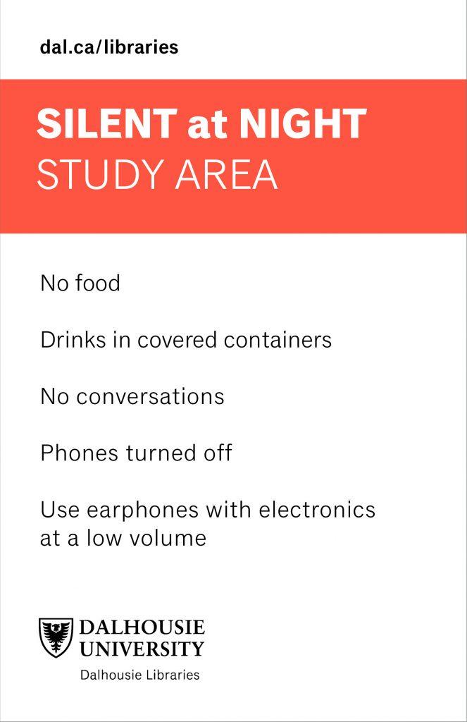 Kellogg silent at night study room copy