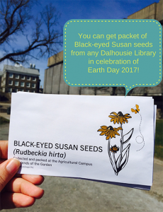 All Dalhousie Libraries seed packet