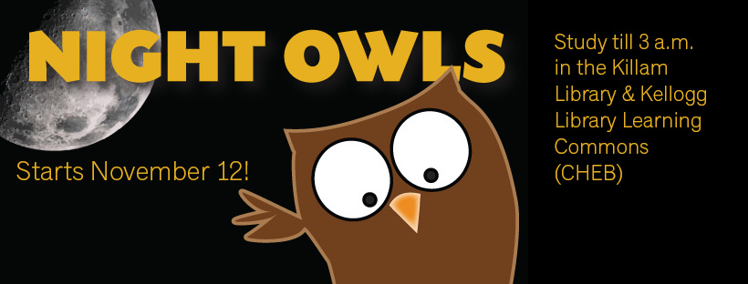 Night owls fall 2017 FB cover photo