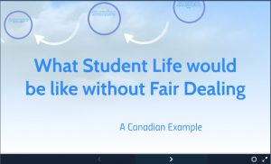 what student life would be like without fair dealing