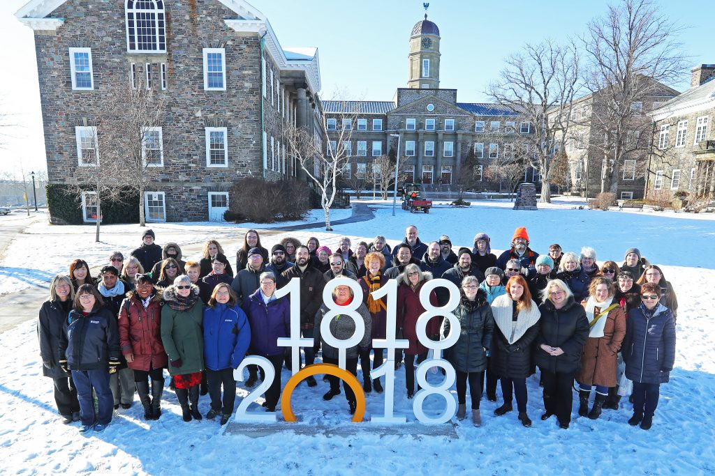 Dal Libraries group shot 2018