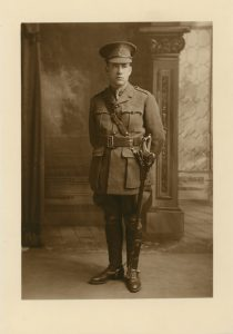 Oscar Donovan, a Nova Scotian who served as a lieutenant with the Canadian Army Medical Corps.