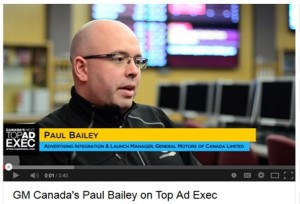 Click to watch a video about Paul's involvement with Canada's Next Top Ad Exec.