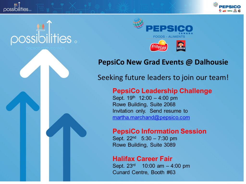 PepsiCo Events Overview