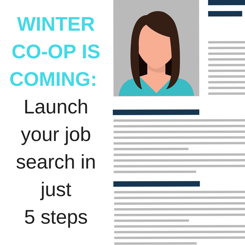 Are you ready for your winter co-op job search?