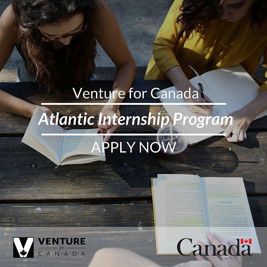 Apply Now for Venture for Canada's Atlantic Internship Program