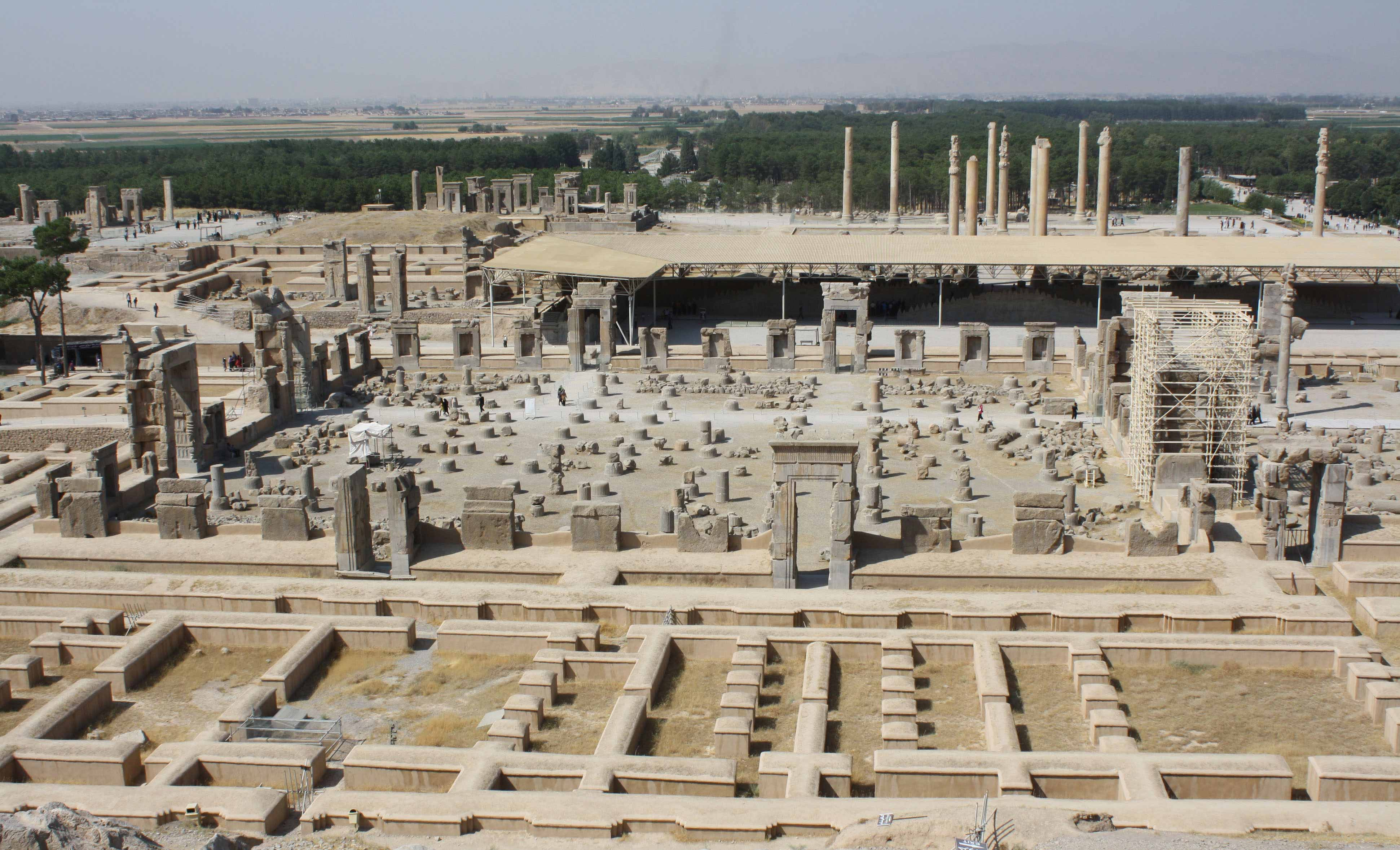 View Of Remains Of Persepolis