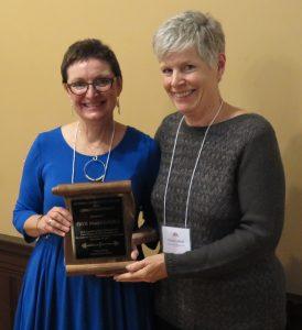 SIM alumni, Faye MacDougall & Cindy Lelliott