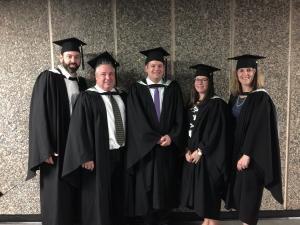 Our Oct 2018 MIM graduates. Photo credit: Michelle Hunter